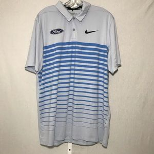 Nike Golf Men's Ford Polo Shirt Size L